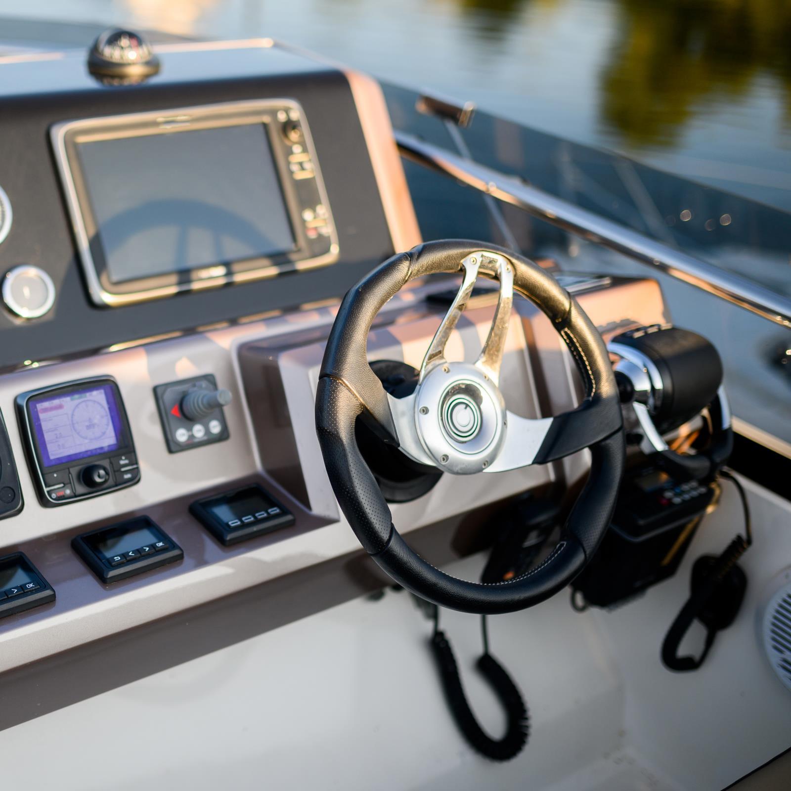 Boat Steering Control